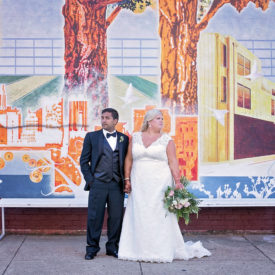 Real Wedding Chattanooga : Lauren and Harsh Wed at The Church on Main