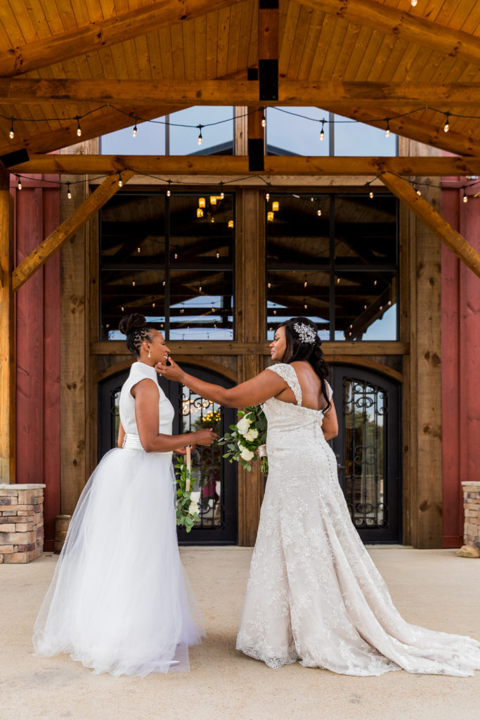 Chattanooga Real Wedding Chamique Holdsclaw And Cara