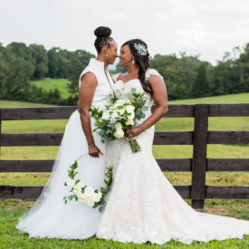 Chattanooga Real Wedding : Chamique Holdsclaw and Cara Wright Say I Do