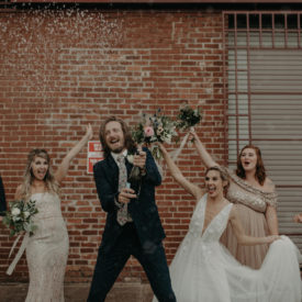 Real Wedding : Abby + Paden | The Turnbull Building