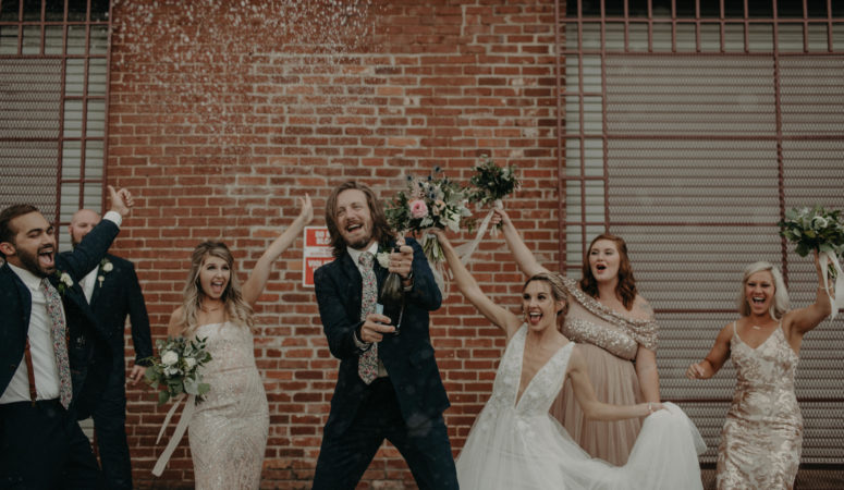Real Wedding : Abby + Paden   The Turnbull Building