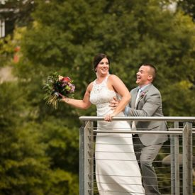 Real Wedding : Caroline and Jake Say I Do at Our Lady of the Mount + The Turnbull Building