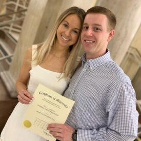 A Courthouse Wedding Amidst COVID-19