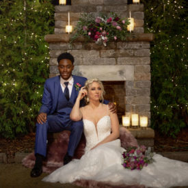 Woodsy Glam Styled Shoot at Howe Farms Vineyard